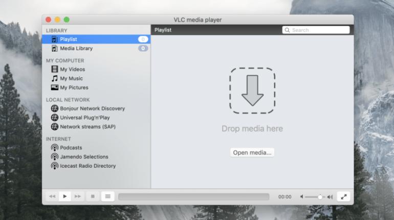 VLC auf dem Mac.