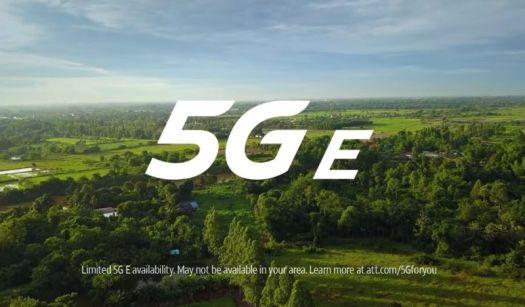 Logo for 5Ge is superimposed over lush forest landscape.
