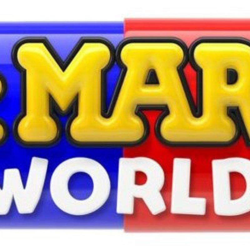 The logo for <em>Dar. Mario World</em>.