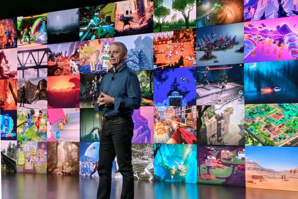 Unity CEO John Riccitiello kicks off his company's GDC Keynote.