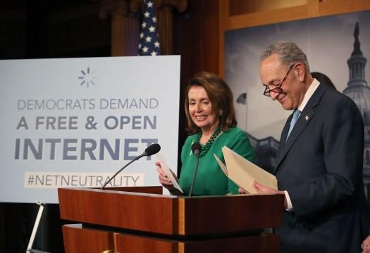 Pelosi-Schumer-Net Neutrality-Bill