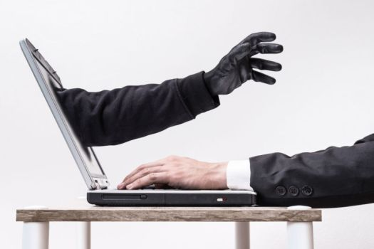 Artist's impression of wireless hackers in your computer.