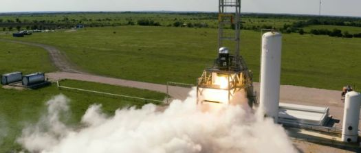 Firefly performed a full-duration firing of its rocket's second stage in April, 2019.