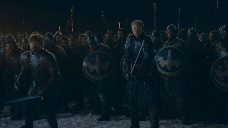 Ain't no battle like a<em>Game of Thrones</em>battle 'cause a<em>Game of Thrones</em>battle don't...<em>my word</em>.