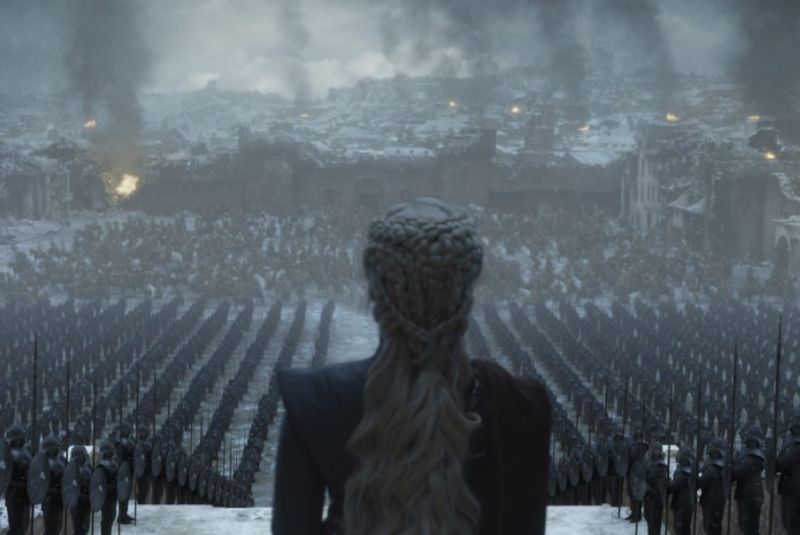"The eight and final season of <em>Game of Thrones</em> proved to be the most polarizing and controversial yet.""><figcaption class="