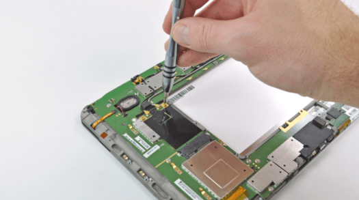 Manufacturers would prefer it if iFixit guides (like the one pictured on a Motorola Xoom from 2011) didn't exist.