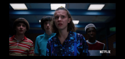 Eleven and the gang face down weird dangers yet again in the third season trailer.