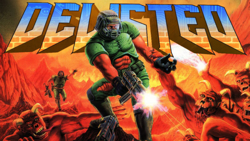 Classic Doom games vanish, reappear on Xbox One with features