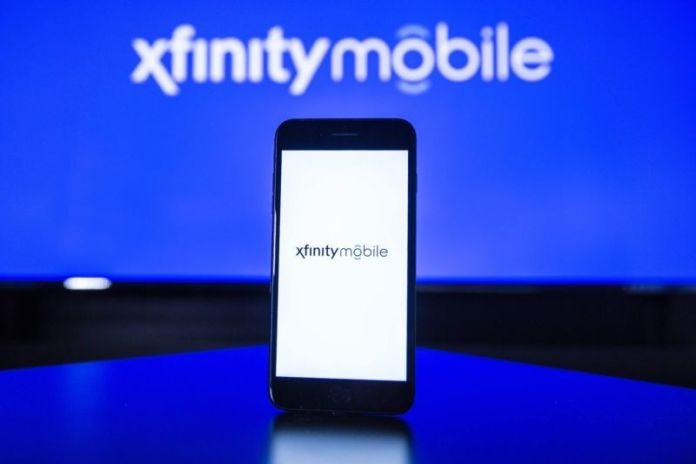 An Xfinity Mobile phone.