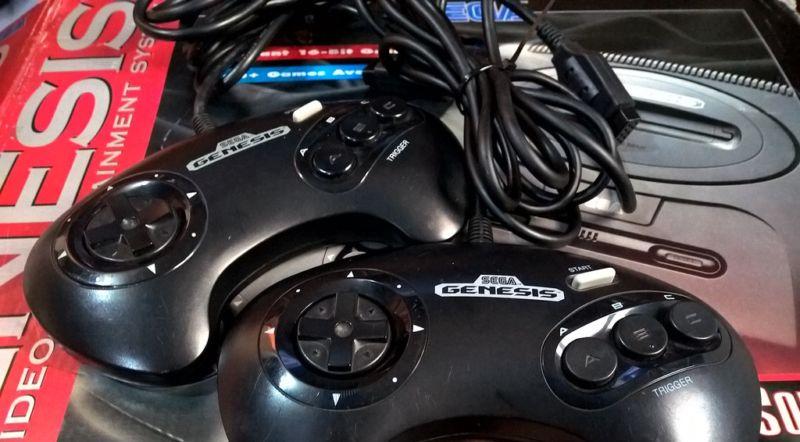 The Sega Genesis.