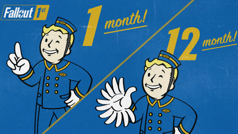 Since this subscription service is based in the <em>Fallout</em> universe, it's radiation that has made the mascot's hand so crazy, not greed, we swear.
