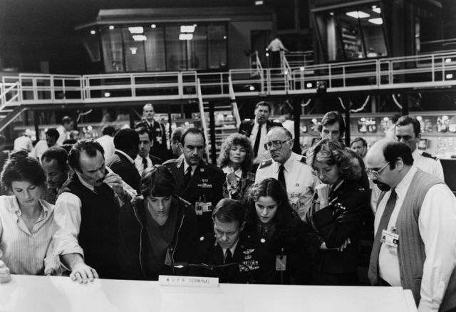 A still from <em>WarGames</em>, as the WOPR's artificial intelligence locks down the countdown to global nuclear annihilation.