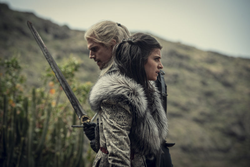 Promotional image from Netflix fantasy series The Witcher.