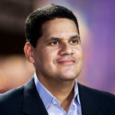 Reggie Fils-Aimé, former president of Nintendo of America.