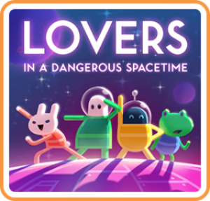 <em>Lovers in a Dangerous Spacetime</em> product image