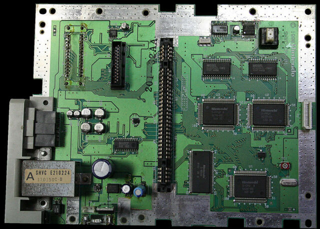 Recreating this original Super Famicom circuit board purely in software is harder than it looks.