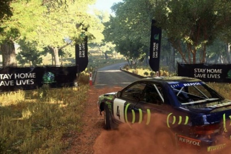 Why would you ever go outside when you have <em>Dirt Rally</em> to play inside?
