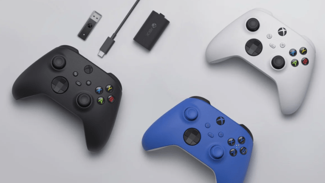 Microsoft's new Xbox Wireless Controller for the Xbox Series X and Series S.