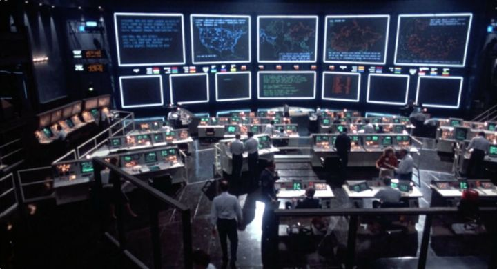 Believe it or not, this fictional version of NORAD shows off the idea of the