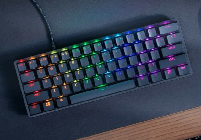 The Razer Huntsman Mini is a good choice for anyone in need of an ultra-compact mechanical gaming keyboard.