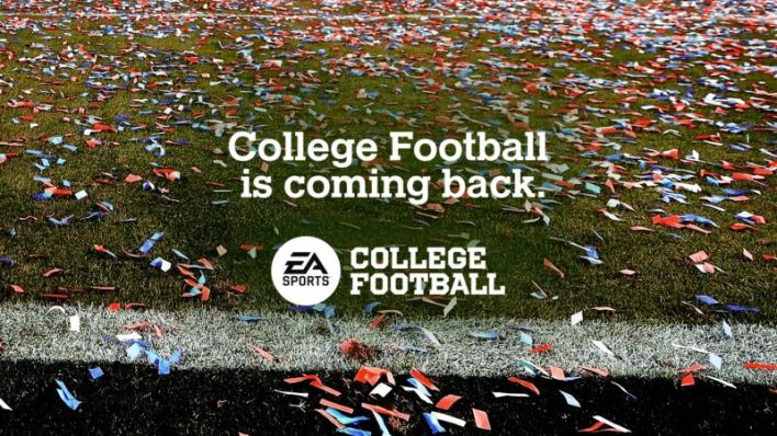 College Football is coming back... but the NCAA trademarks and actual college football players are not.