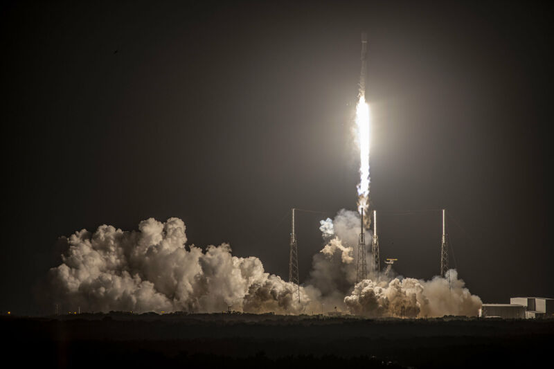 In mid-February, a Falcon 9 launch was successful, but the first stage failed to land.
