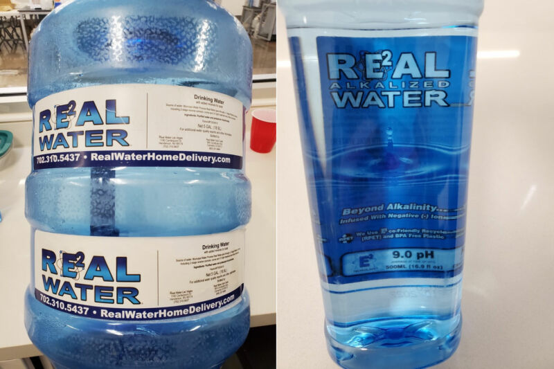 Images of Real Water's