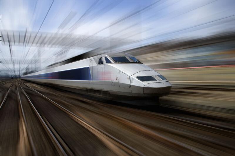 A <em>Train Grand Vitesse</em>.