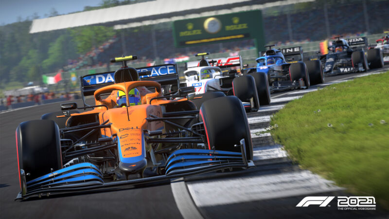 This year's installment of the official Formula 1 game, <em data-recalc-dims=