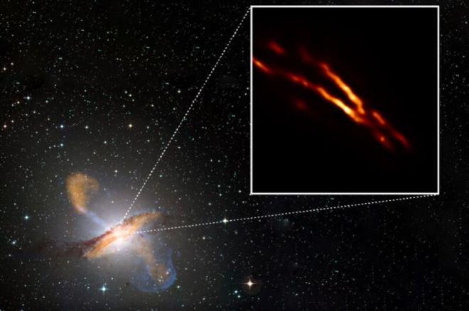 centuariTOP-800x531 Event Horizon Telescope captures birth of black hole jet in Centaurus A | Ars Technical