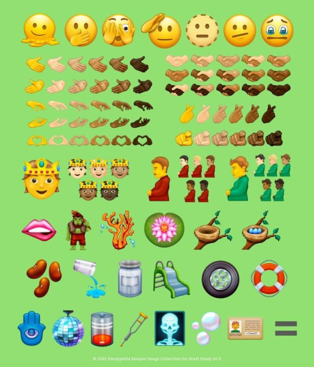 All the potential new emoji