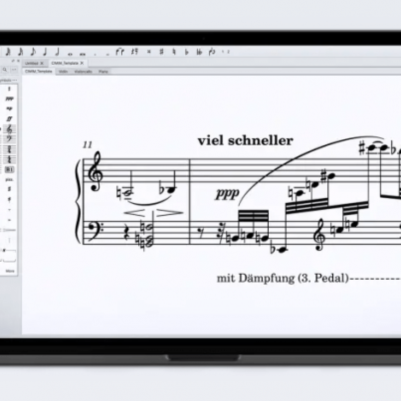 MuseScore (the website) offers access to hundreds of thousands of sheet music arrangements. MuseScore (the application) allows easy editing and modification, MIDI playback, and more.