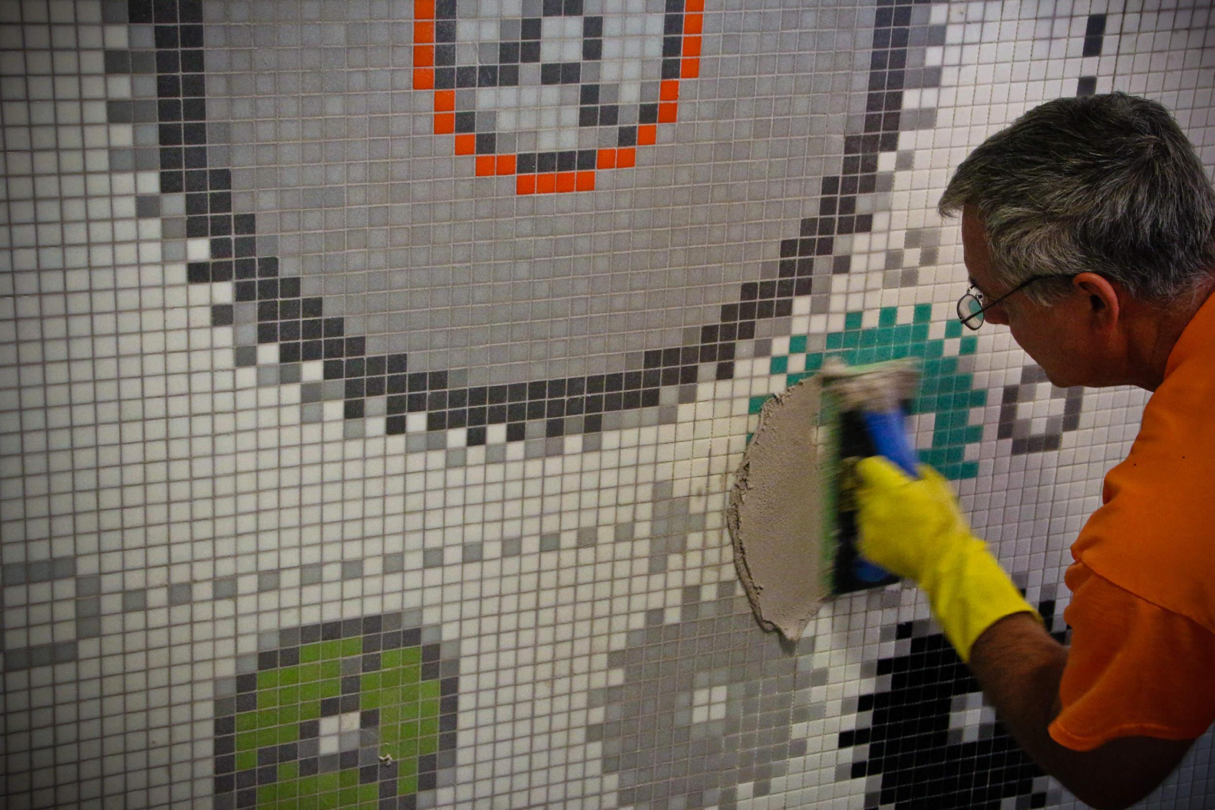 mosaic tile installation information