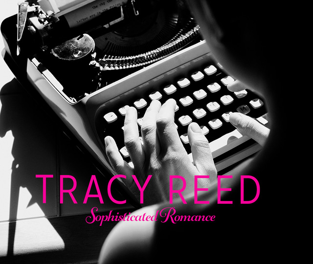 Author typing on an old typewriter | Tracy Read | A Slice of Orange