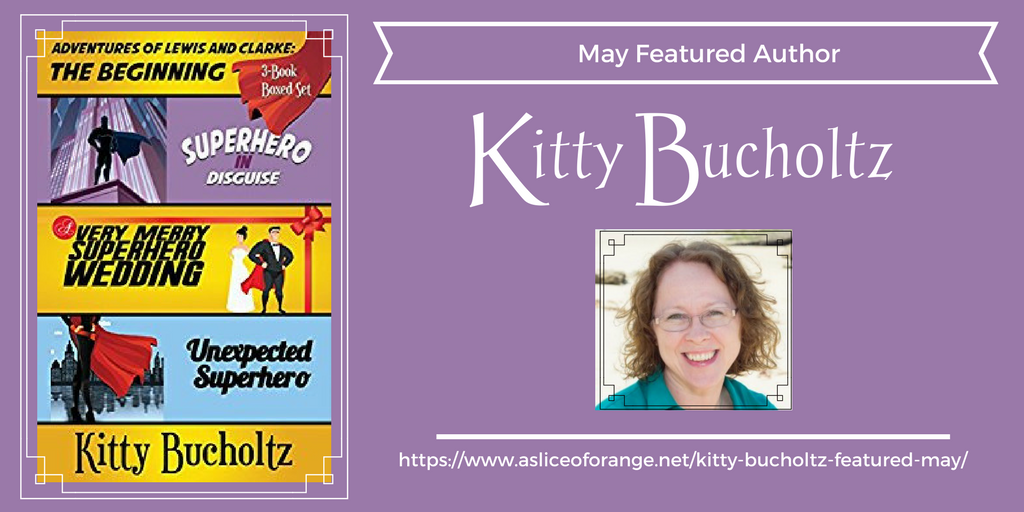 Kitty Bucholtz | Featured Author for May | A Slice of Orange