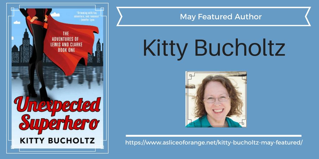 Kitty Bucholtz | Featured Author | A Slice of Orange