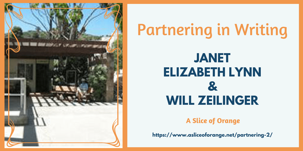 Partnering In Writing | Janet Lynn and Will Zeilinger | A Slice of Orange