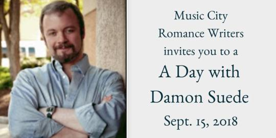 A Day with Damon Suede | Music City Romance Writers | A Slice of Orange