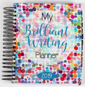 My Brilliant Writer Planner cover