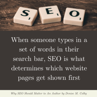 Quote from blog post by Denise M. Colby - how SEO works