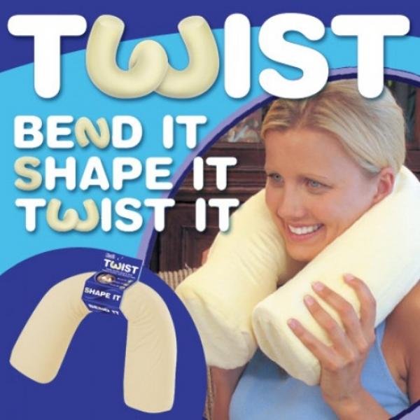 contour twist pillow