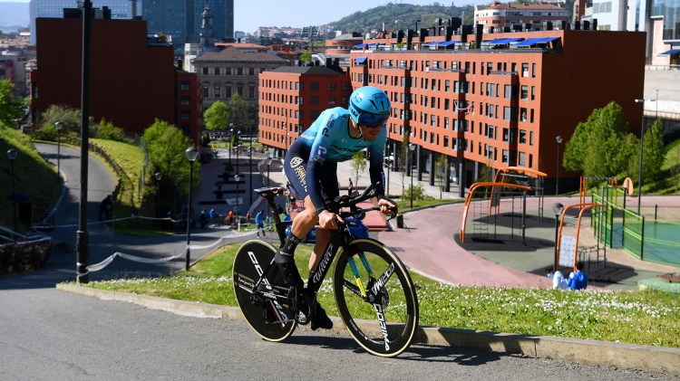 Itzulia Basque Country, Stage 1. Alex Aranburu takes ninth place in opening time  trial in Bilbao - Astana - Premier Tech