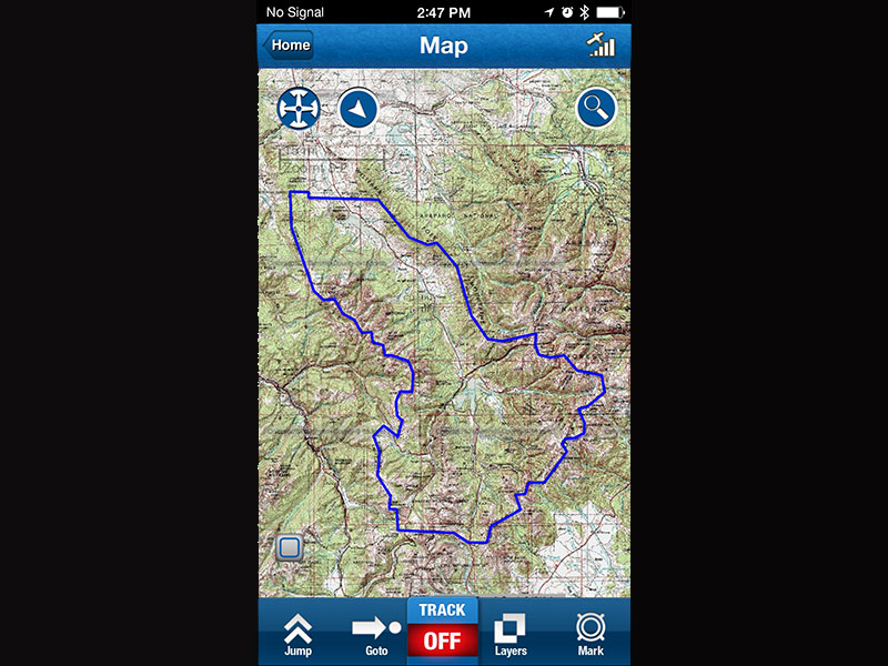 Off The Grid Maps Turn Your Smart Phone Into A Versatile Off Grid GPS