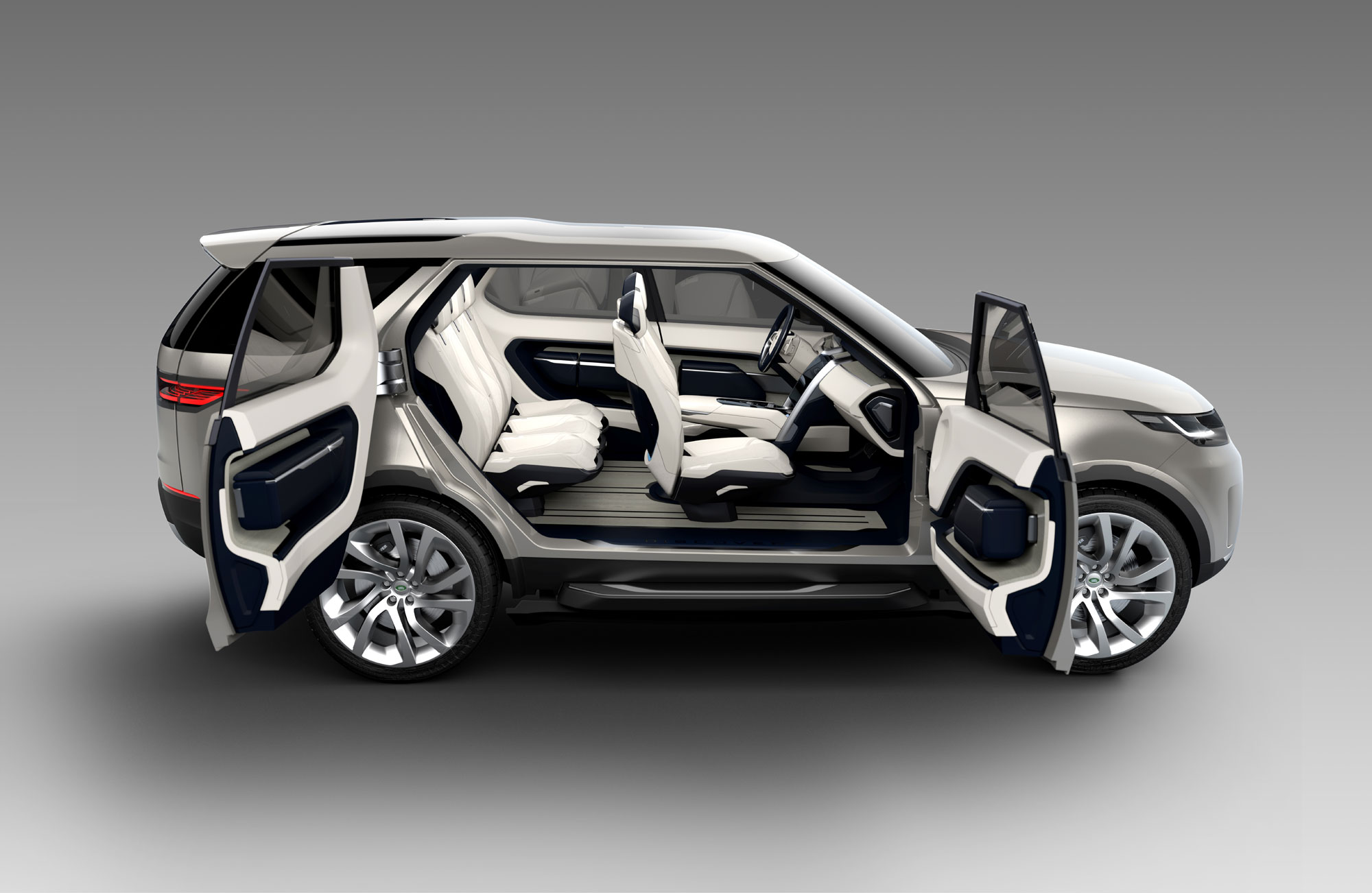 The Land Rover Discovery Vision Concept Revealed Rides Magazine