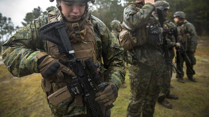 Photos Marines Begin Fielding The M38 Sdm Rifle