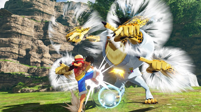 one piece world seeker gráficos
