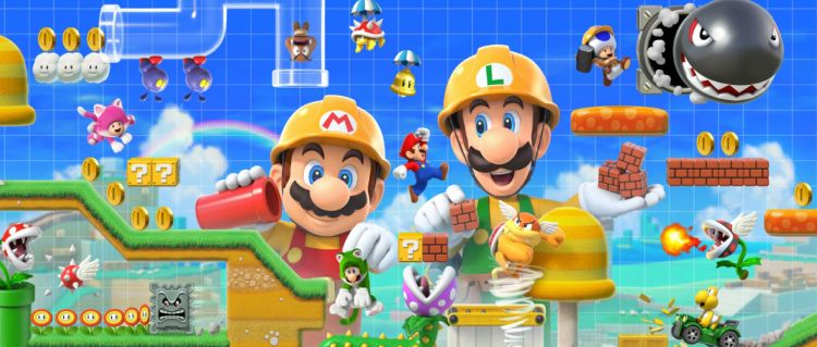 Super Mario Maker 2 Atomix