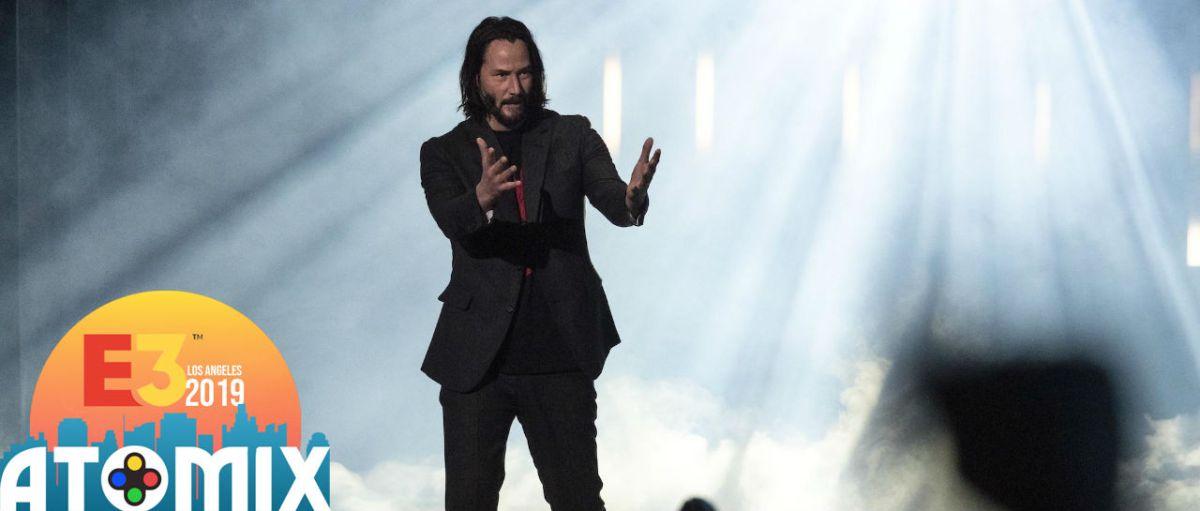 Keanu Reeves conferencia Xbox Atomix E3 2019