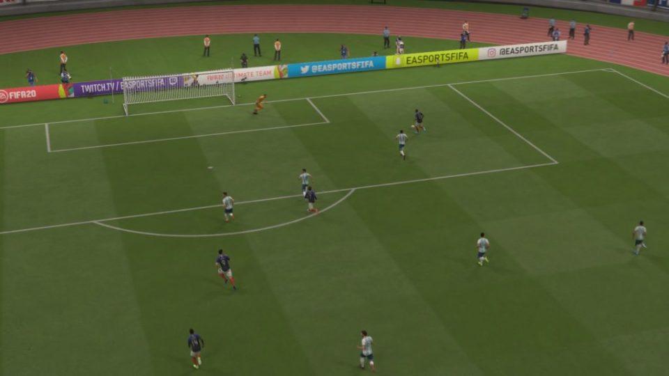 FIFA 20 Match Day en vivo 0-0 ARG – FRA, 1.er tiempo