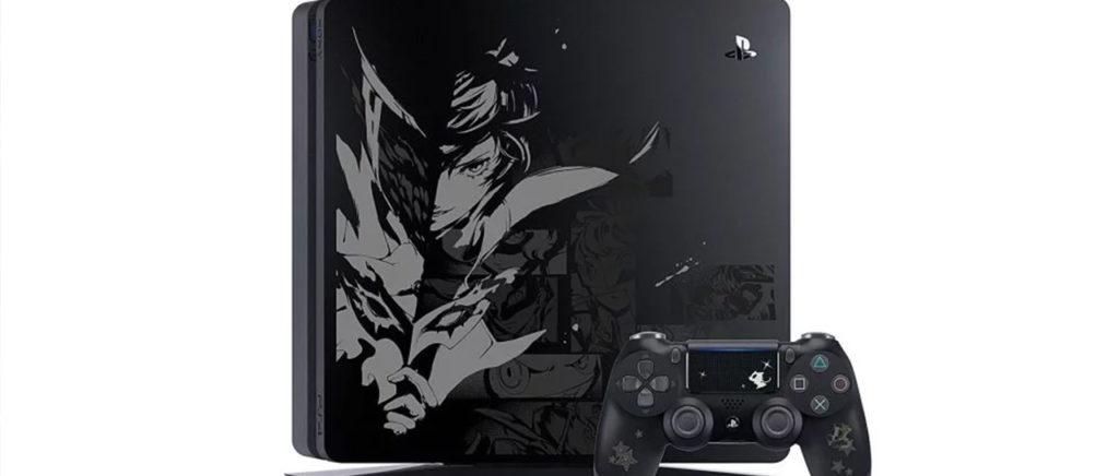 Japón tendrá tres consolas PS4 inspiradas por Persona 5: Royal